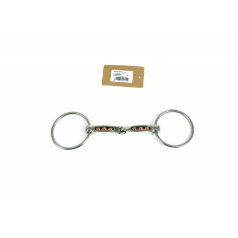 Metalab Magic System Copper Rollers Ring Snaffle