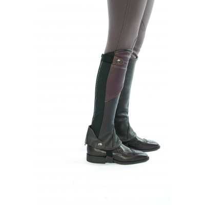Lami-Cell Leather Mini-Chaps - Ladies