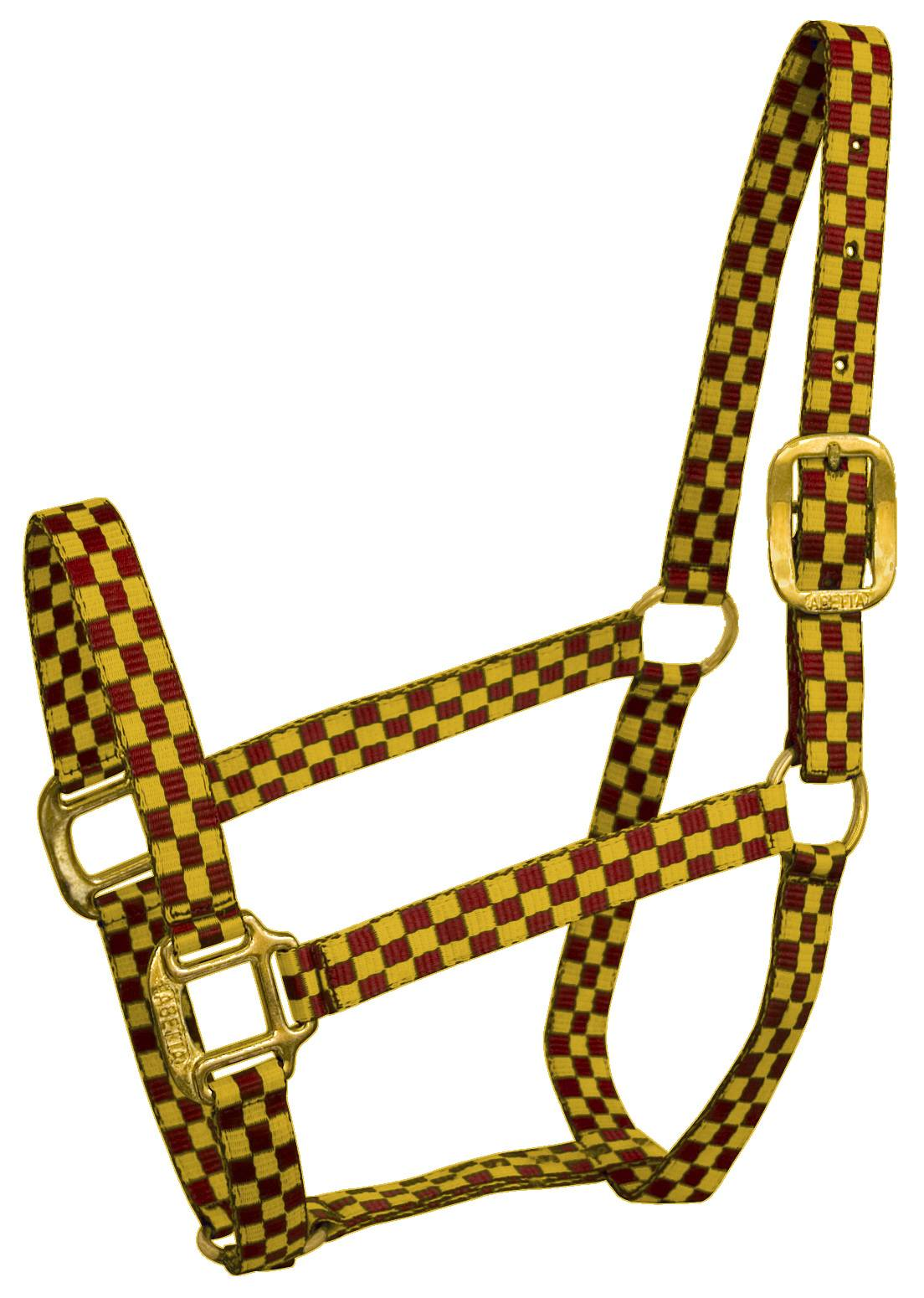 Abetta Checkered Nylon Halter