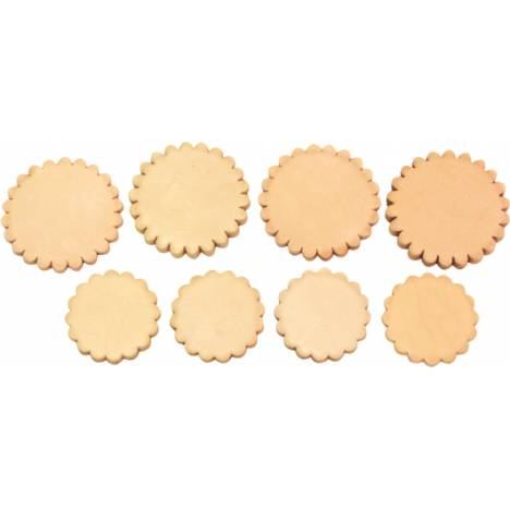 Simco Mixed Size Rosettes Package - 24 Pack