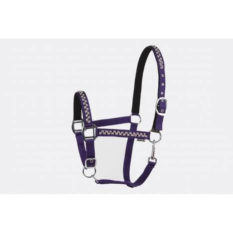 Lettia Square Bling Halter with Breakaway Tab