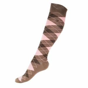 Horze Alana Checked Summer Socks