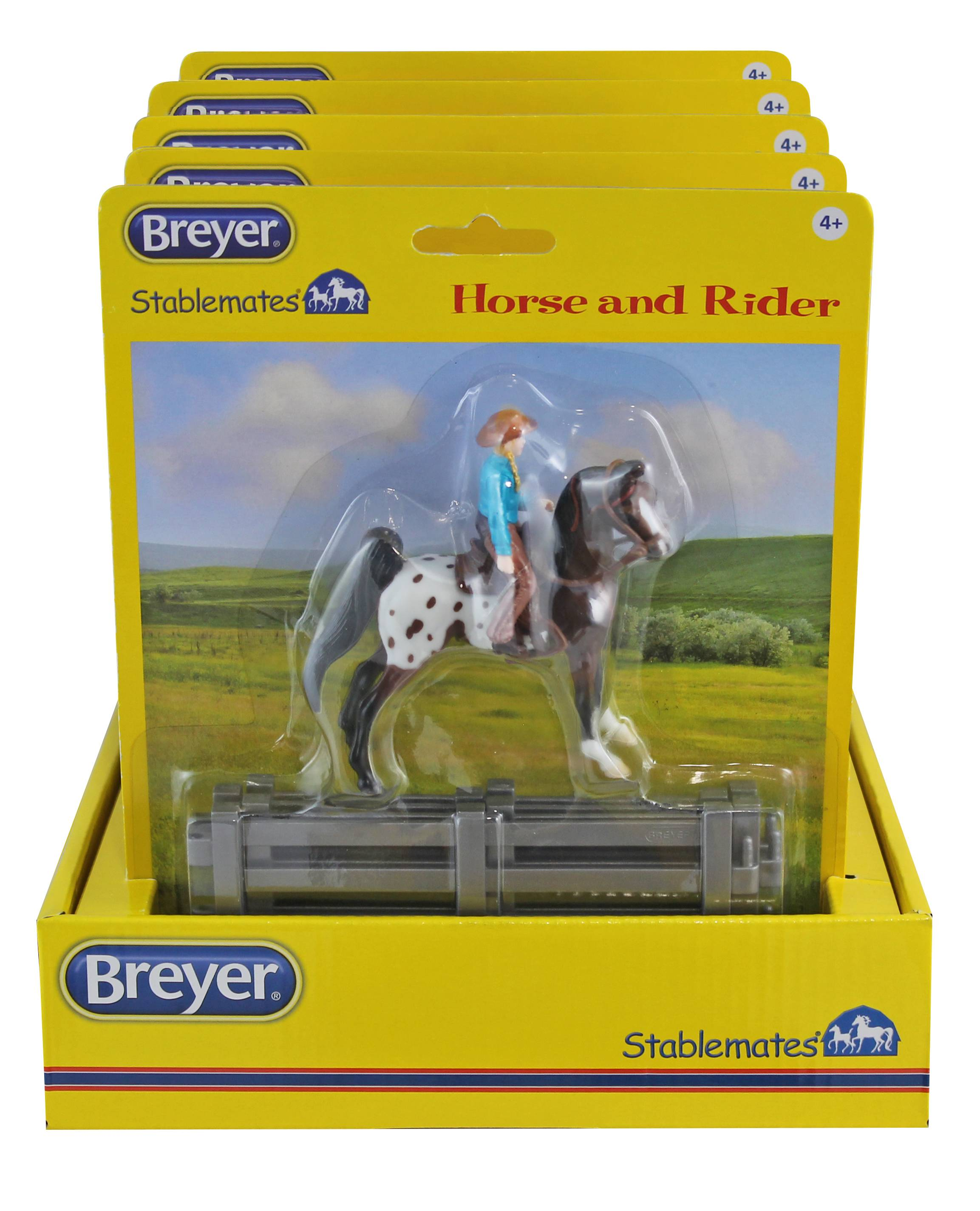 Breyer Stablemates Western Horse & Riders - Assorted
