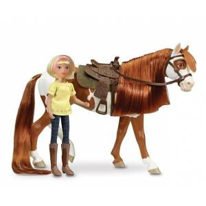 Breyer Boomerang and Abigail- 1:12 Scale