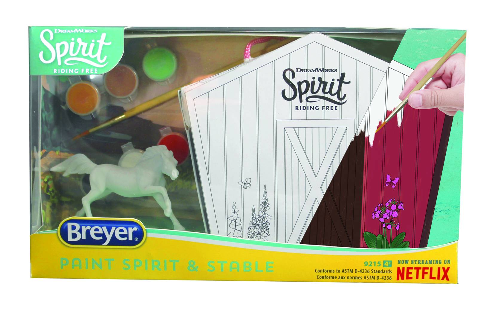 Breyer Spirit Stable and Horse Painting Kit