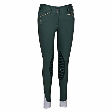 GHM by Equine Couture Add Back Knee Patch Breeches- Ladies