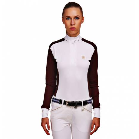 Equine Couture Champion Long Sleeve Show Shirt- Ladies