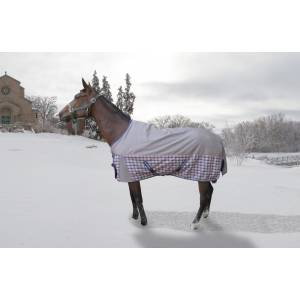 Tuffrider Major 1200D Ballistic 220 Turnout Blanket - Plaid