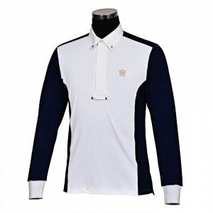 GHM by Tuffrider Champion Long Sleeve Show Shirt- Mens