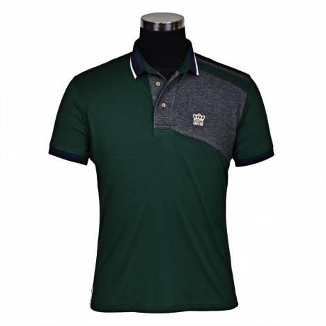 Tuffrider Hunter Short Sleeve Polo Shirt-Mens