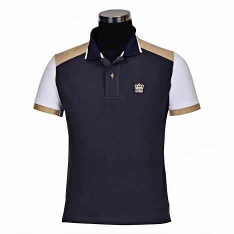 GHM by Tuffrider Reserve Short Sleeve Polo Shirt-Mens