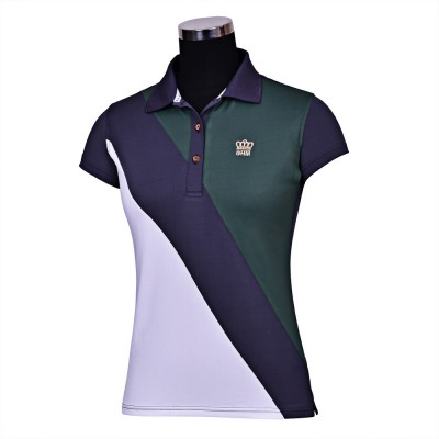 GHM by Equine Couture Pro Sport Short Sleeve Polo Shirt- Ladies
