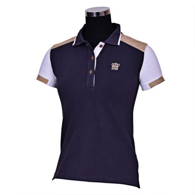 GHM by Equine Couture Reserve Short Sleeve Polo Shirt- Ladies