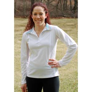 Devon Aire Ladies Long Sleeve Dev-Tek Show Shirt