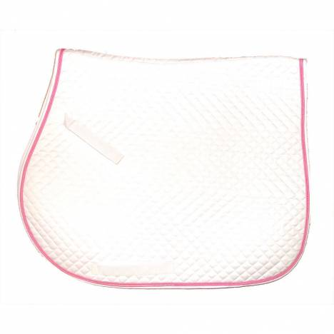 Intrepid All Purpose Saddle Pad- Quilted, Color Trim