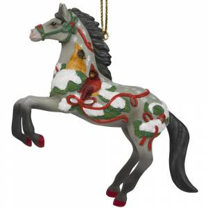 The Trail Of Painted Ponies Song Of The Cardinal Ornament