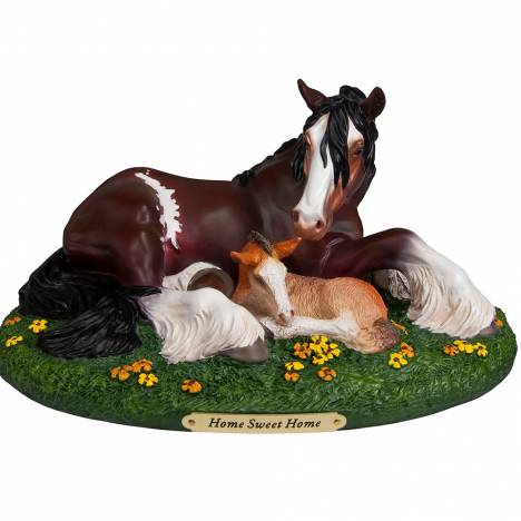 The Trail Of Painted Ponies Home Sweet Home Figurine