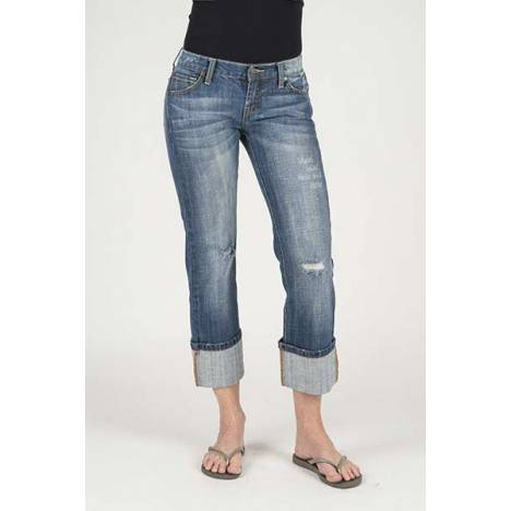 Stetson Ladies 816 Fit Cropped Length Jeans