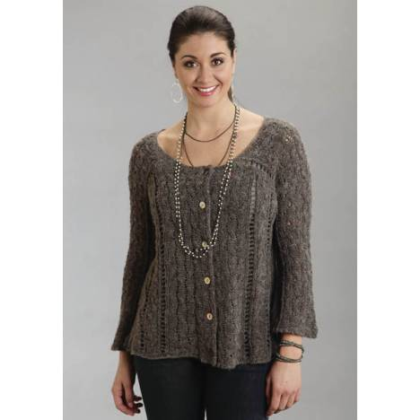 Stetson Ladies Fall/Winter III Boxy Loose Fit Cardigan Sweater