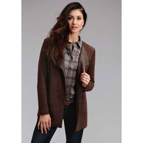 Stetson Ladies Novelty Solid Suede Long Jacket