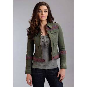 Stetson Ladies Spring I Stretch Twill Jacket