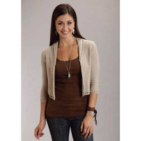 Stetson Ladies Summer II Crochet Knitted Cardigan