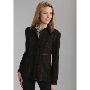 Stetson Ladies Unlined Suede Car Coat