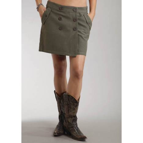 Stetson Ladies Winter I Solid Canvas Wrap Skirt