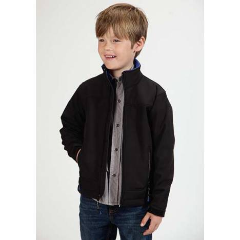 Roper Boys Technical Fleece Softshell Jacket