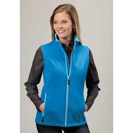 Roper Ladies Technical Lightweight Softshell Vest - Blue