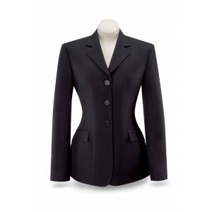 RJ Classics R.J. Diana Coat - Ladies - Black Herringbone