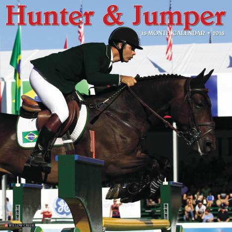 Kelley Hunter & Jumper 2018 Calendar- 18 Month