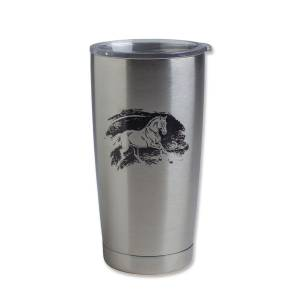 Kelley Galloping Horse Vacuum Sealed Tumbler