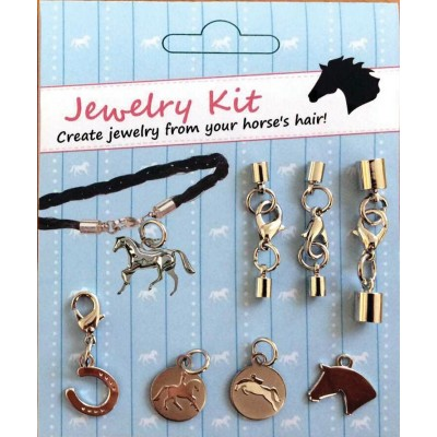Kelley Do It Yourself Horse Hair Jewelry Kit With Jumper & Dressage Charms