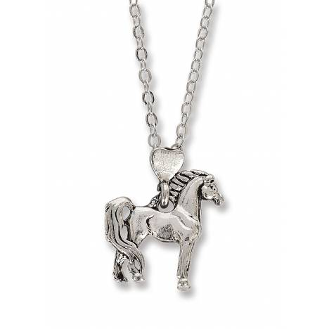 Kelley Bay Horse Box With Standing Horse Necklace