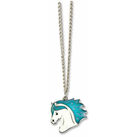 Kelley Girls Horse Head Mood Necklace