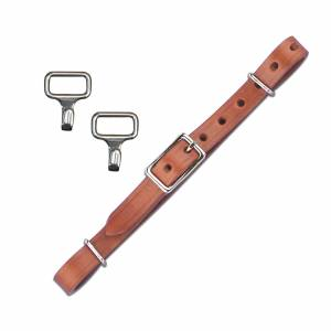 Myler Leather Curb Strap Kit