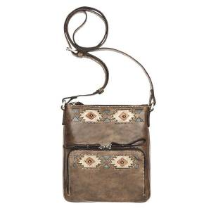American West Native Sun Crossbody Bag/Wallet - Ladies