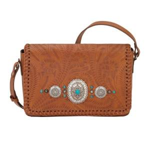 American West Lariat Love Crossbody Flap Bag/Wallet - Ladies