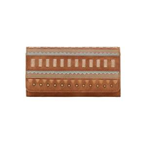 Bandana El Dorado Flap Wallet - Ladies