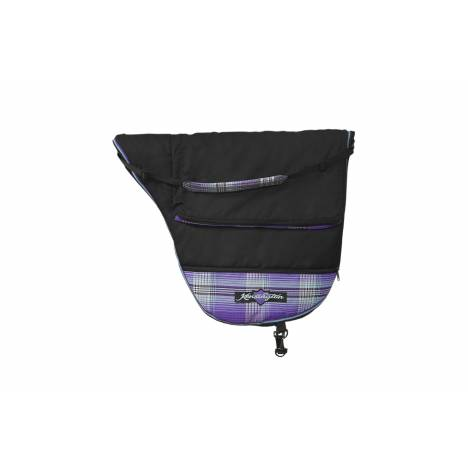 Kensington Dressage Saddle Carry Bag - Lavender Mint