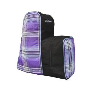 Kensington English Boot Carry All with  Side Helmet Compartment - Lavender Mint