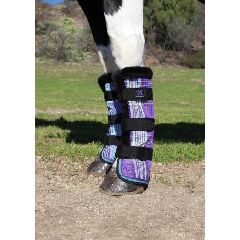 Kensington Protective Fly Boots - Lavender Mint