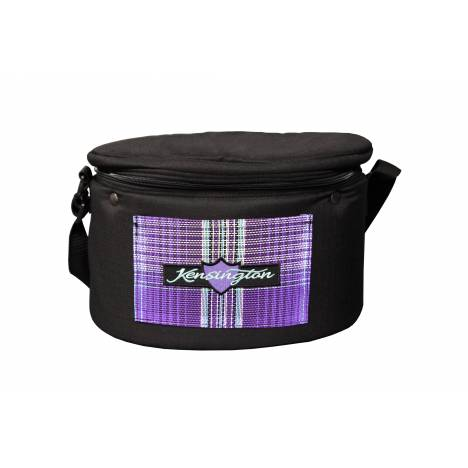 Kensington Riding Helmet/Makeup Carry Case - Lavender Mint