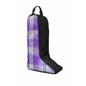 Kensington Tall Boot Bag  - Lavender Mint