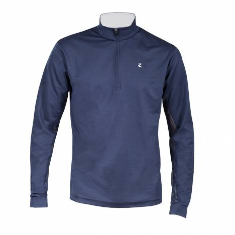 HorZe Supreme Dorian Long Sleeve Functional Shirt - Mens - Blue Aster/Peacoat Dark Blue