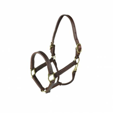 HorZe American Halter With Adjustable Chinstr