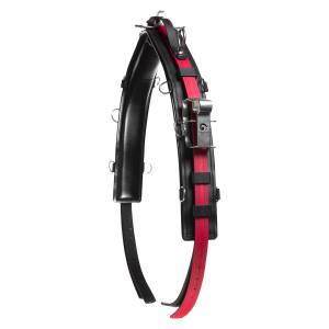 Finn Tack QH Saddle Pro with Head Pole Straps- Synthetic