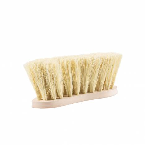 Horze Wood Back Firm Brush with Natural Bristles - 8 Cm