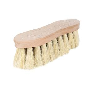 Horze Wood Back Firm Brush with Natural Mix Bristles - 2 Inch